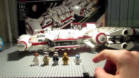 Lego Star Wars 10198 Tantive Iv Review Youtube
