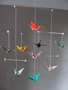 Mobile Basteln Origami : baby mobile selbst basteln ihr traumhaus ideen ~ Orissabook.com Haus und Dekorationen