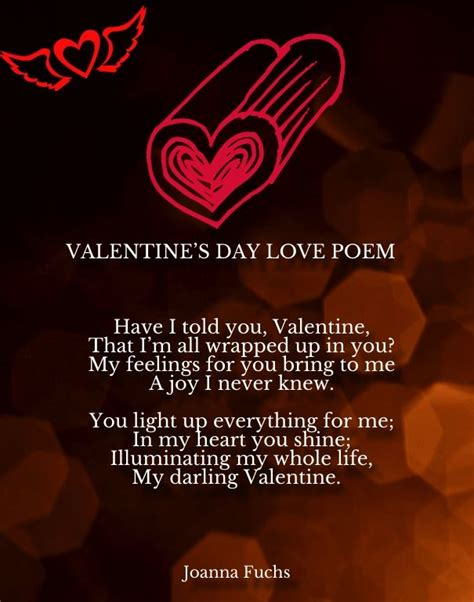 valentines day short love poems romantic poems