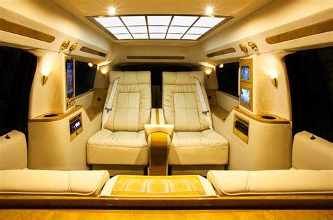 cadillac escalade esv conversaion luxury coach