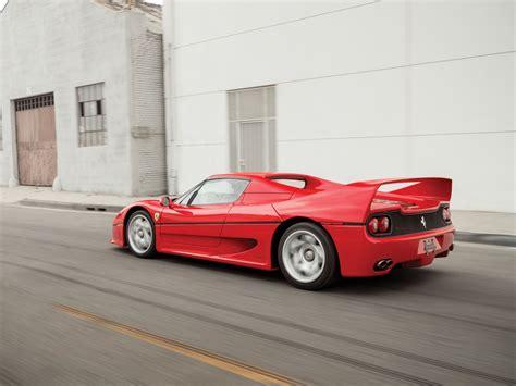 ferrari j50 rear model masterpiece ferrari f50 premier financial services