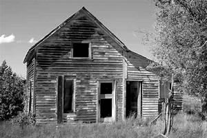 Abandoned Home on Colorado Plains (Great Depression Era ...