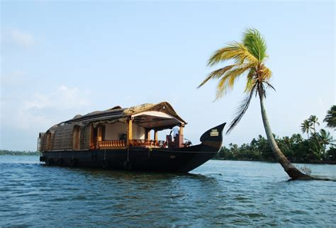 Kerala Tourism Alleppey Boat House by Pournami Houseboats Alleppey Boathouse Trips