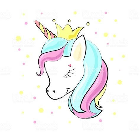 unicorn baby cute cartoon  flat style  clothes stock
