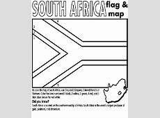South Africa Coloring Page crayolacom