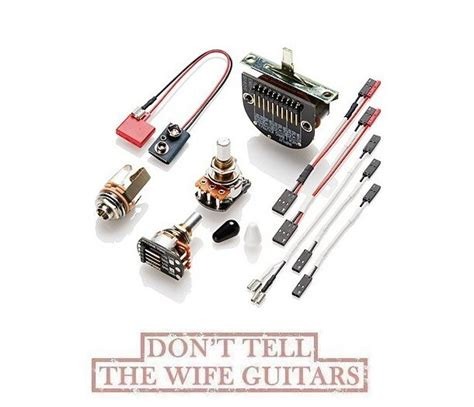 Emg Set Tele Solderless Conversion Wiring Kit For