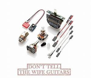 Emg T Set Tele Solderless Conversion Wiring Kit For