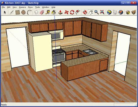 sketchup cuisine des logiciels pour faire plan de cuisine en 3d