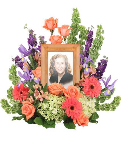 bittersweet twilight memorial memorial flowers frame