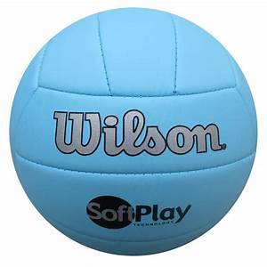 Special offer Genuine Wilson Softplay Blue Volleyball ...