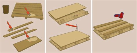 fabriquer bureau en palette comment fabriquer un bureau en palette