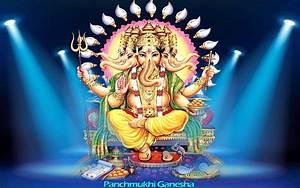 Panchmukhi Ganesh HD Wallpapers