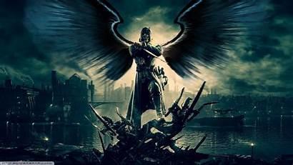 Demon Angel Dishonored Wallpapers Backgrounds Desktop Corvo