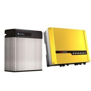 Free Resu by Resu 10 Goodwe Es Series Hybrid Inverter Package