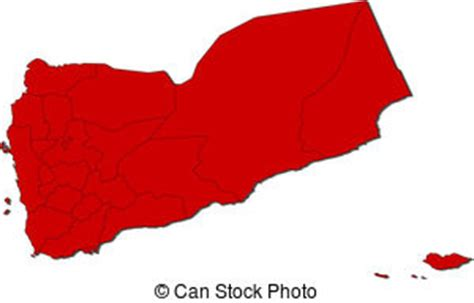 yemen political map  capital sanaa national borders