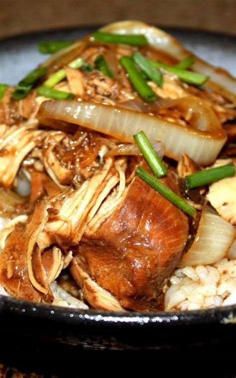 Soy Sauce Slow Cooker Chicken