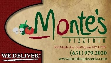 elite cuisine llc monte s elite pizza llc menu reviews smithtown 11787