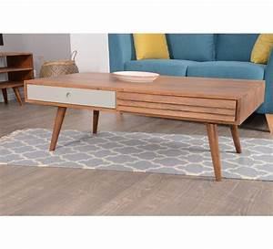 Meuble Scandinave Vintage : table basse scandinave 2 tiroirs gris 39 vintage grey 39 7261 ~ Teatrodelosmanantiales.com Idées de Décoration