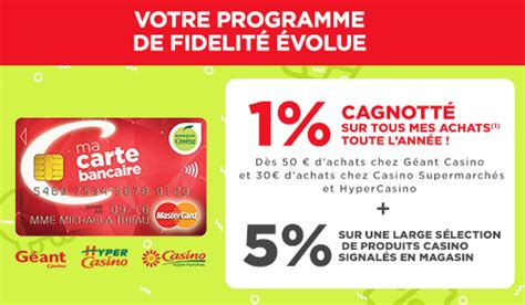 Carte Fidelite Casino by Carte Mastercard Casino Avantages Fid 233 Lit 233 Carte