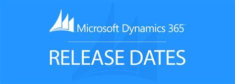Microsoft Dynamics 365 Release Date & Launch