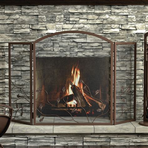 glass fireplace screen 21 modern fireplace glass doors design to beautify your