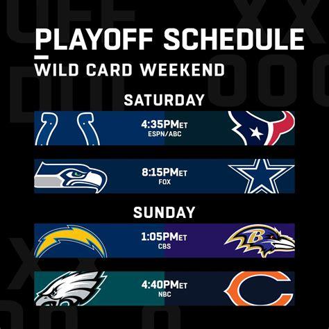 wild nfl card weekend philadelphia chicago prediction