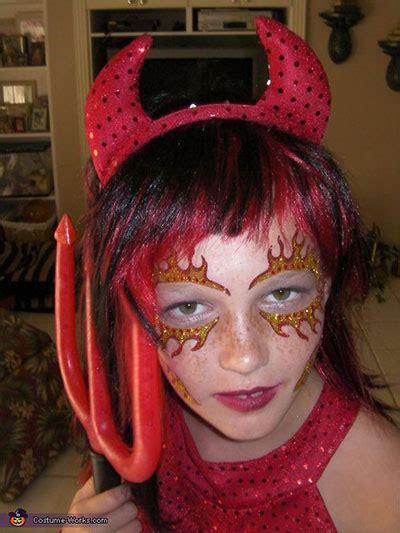 scary halloween devil    trends ideas  girls  girlshue