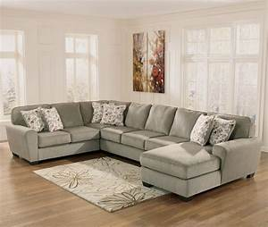 Ashley Furniture Patola Park Patina 4 Piece Sectional