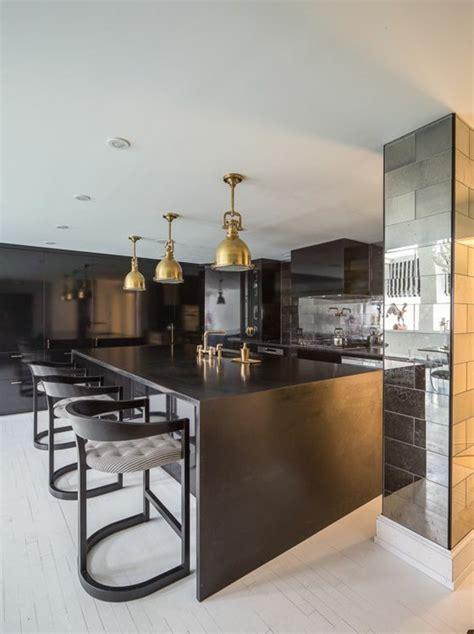 cuisine avec ilot central et bar la cuisine équipée avec îlot central 66 idées en photos
