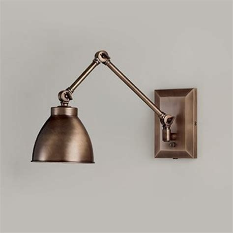 bronze swing arm wall sconce by norwell lighting