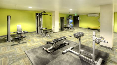 Apartment Fitness Center by Alcyone Apartments Is South Lake Union Seattle 301