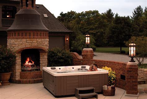 backyard ideas  hot tubs  swim spas