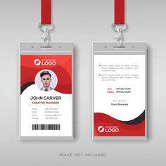 office id card design psd psdfreebiescom id card
