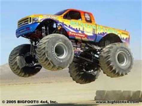 firestone bigfoot monster truck firestone wilderness bigfoot the bigfoot racing team