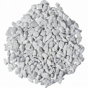 Cailloux Blanc Brico Depot : graviers en marbre blanc 12 18 mm 25 kg leroy merlin ~ Dailycaller-alerts.com Idées de Décoration