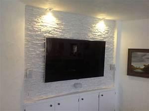 Tv An Wand Anbringen : fernseher wand kleben m bel design idee f r sie ~ Markanthonyermac.com Haus und Dekorationen