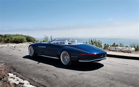 2018 Vision Mercedes Maybach 6 Cabriolet 8 Wallpaper
