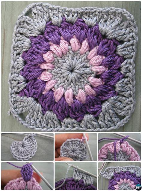 crochet granny square  patterns