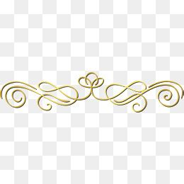 library  gold lines clip art transparent png files