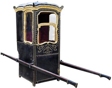 chaise a porteur chaise à porteur xixe siècle