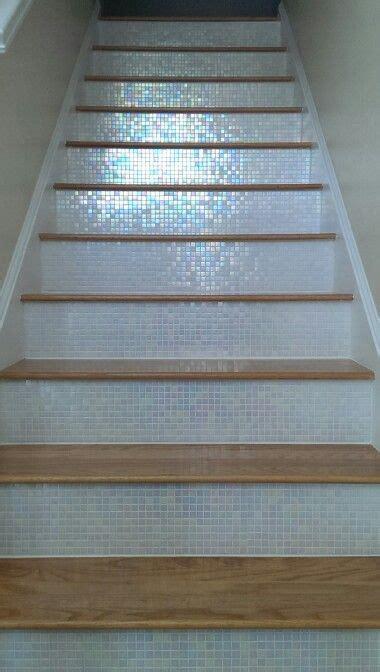 tile stairs ideas  pinterest