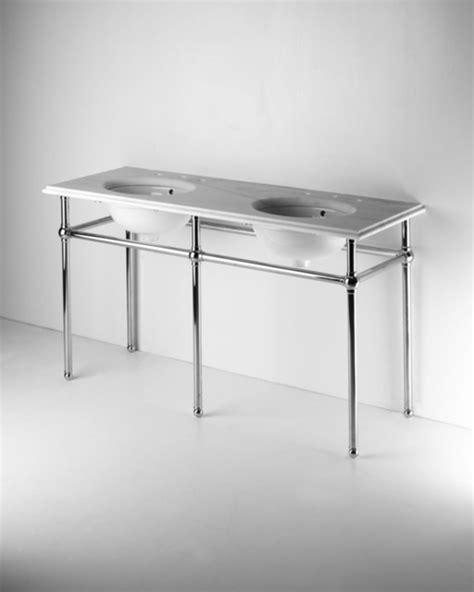 Bathroom Sink Metal Legs by Metal Five Leg Washstand With Marble Top