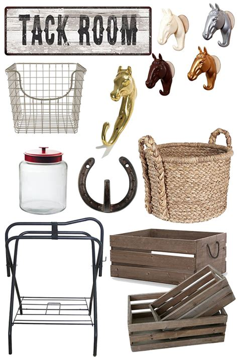 affordable accessories  organize  tack room horses