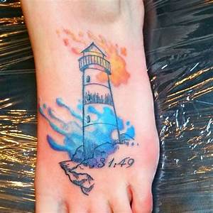 40+ Incredible Lighthouse Tattoo Designs - TattooBlend