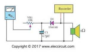Analog Meter Schematic Electronic Projects Circuits