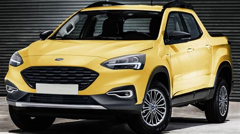 ford focus based pickup rumor fueled  courier trademark