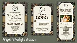 25 best ideas about camo wedding invitations on pinterest for Wedding invitation rsvp percentage