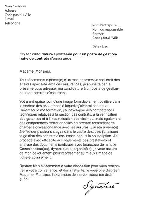 modele lettre resiliation assurance voiture document