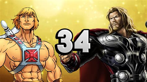 Heman Vs Thor  Urbof #34 Youtube