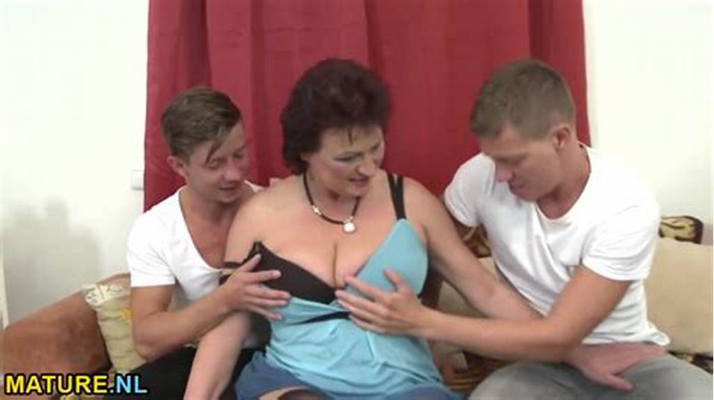 #Fatty #Curly #Milf #Is #Pleasuring #Hot #Mmf #Threesome #Fuck #With #Two #Young #Guys